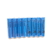 8pcs/lot TrustFire TR10440 10440 AAA 3.7V 600mAh Lithium Rechargeable Battery for LED Flashlight Torch Remote Control Toys trustfire mini03 stainless steel waterproof mini flashlight cree xpg r5 led torch keychain light lantern trustfire 10440 battery