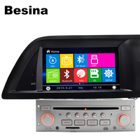 Besina 7 Inch 1 Din Car DVD Player For Citroen C5 Canbus Radio Bluetooth 1080P GPS