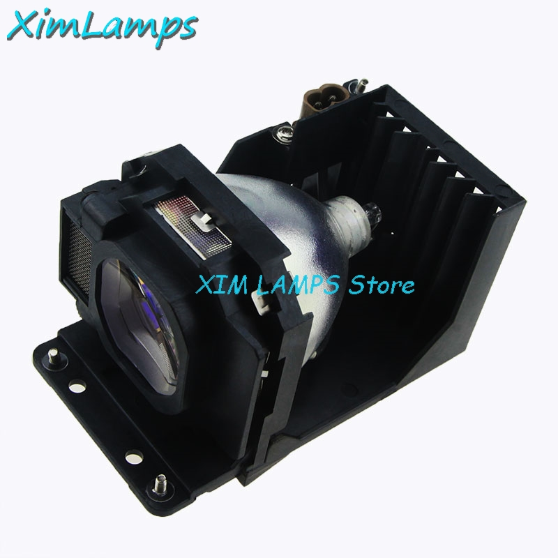 XIM ET-LAB80 Projector Bare Lamp With Housing For Panasonic PT-LB90NTU, PT-LB90U PT-LB75 PT-LB75NTU PT-LB75U PT-LB78V PT-LB80 compatible projector lamp et lab80 for pt lb80ea pt lb80nt pt lb80ntea pt lw80nt pt lb90 pt lb78 with housing happy bate