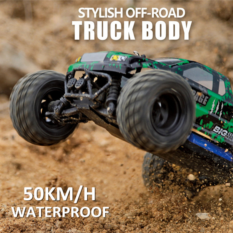 1:18 Bigfoot Cars 50km/h RC Car 4WD 2.4ghz Remote Control Trucks High Quality Climbing Off-road Truck Top Level Toys Vehicles