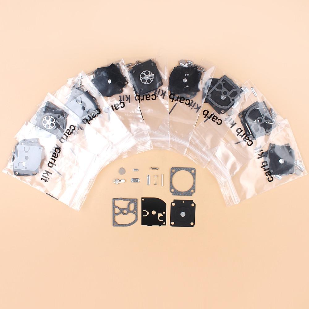 10 шт./лот Карбюратор Ремонтный комплект для STIHL BG45 BG65 BG85 FH75 FC75 HT75 HL75 вентилятор триммер ZAMA C1Q-68 Carb RB-99