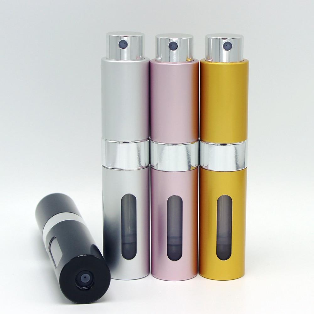 Myer Perfume Refill: 8ml Pro Mini Travel Perfume Bottle Atomizer Parfum Bottles For Spray Scent Pump Case It Is 8ml