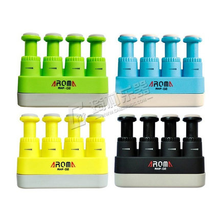 Aroma AHF-02 Finger Exerciser Hand Exercisers Trainer for Children Guitar Piano Ukulele Tension 2lb-3lbs 4 Colors Available
