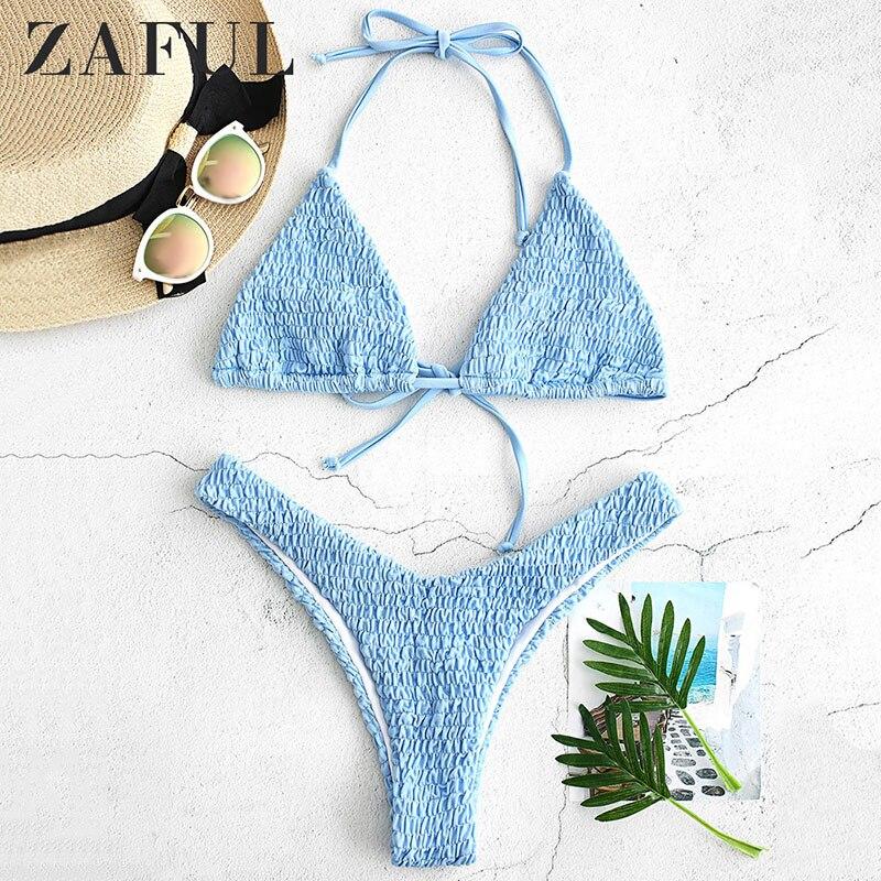 CharMma Volta Tiras Impressão Abacaxi Abacaxi Imprimir Bikini Set Mulheres Sexy Cintas de Espaguete Verão Swimsuit Fato de banho