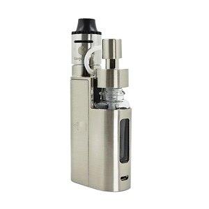 Image 3 - Oryginalny Kanger Drip EZ zestaw startowy 80W E papieros Vape parownik z pompą Push RBA 0.3Ohm cewka kroplowa 0.2Ohm e zestaw papierosów