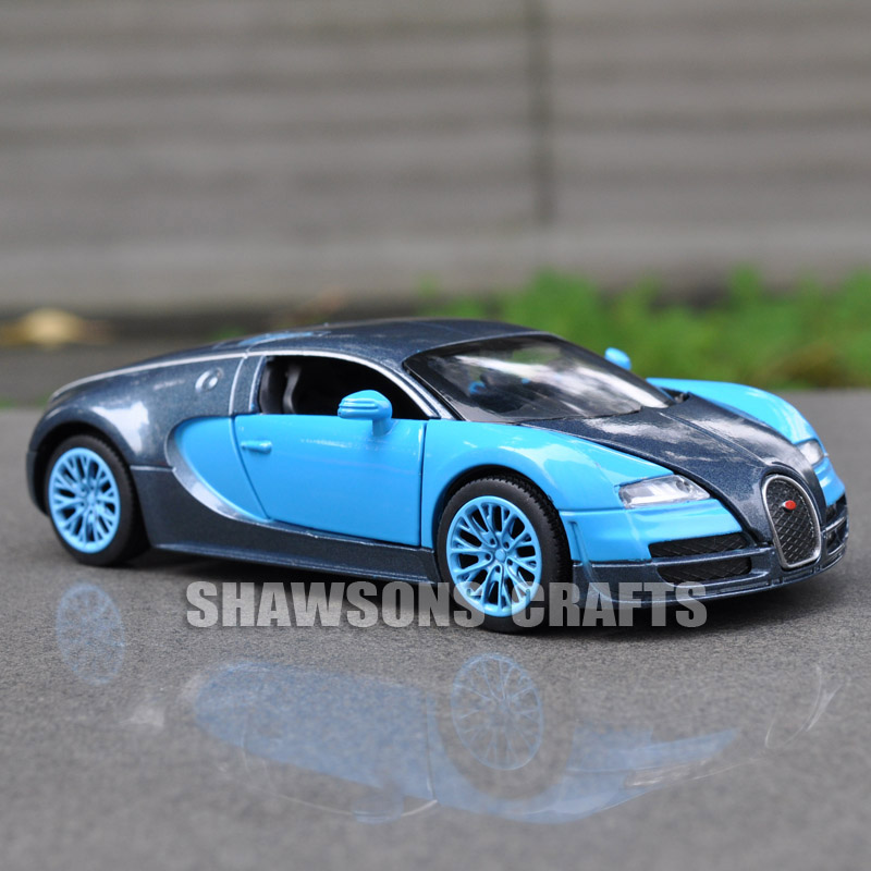 Captivating DIECAST METAL 1:32 MODEL CAR TOYS SOUND U0026 LIGHT PULL BACK BUGATTI VEYRON  In