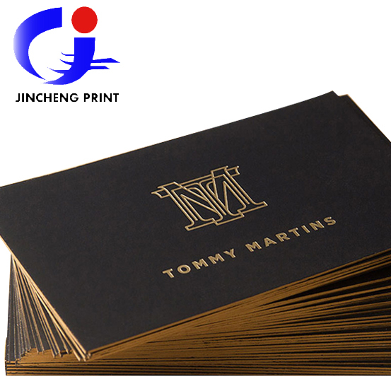 2015 hot sale black cardboard luxury business card custom gold edge 2015 hot sale black cardboard luxury business card custom gold edge stampingdebossed name cards 700gsm paper reheart Gallery
