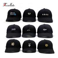 Tessellate Mode Coton Main OK Amour Gestes Doigt Snapback Chapeaux Casquettes de Baseball Caps Pour Hommes Femmes Réglable Chapeau Adulte T-128