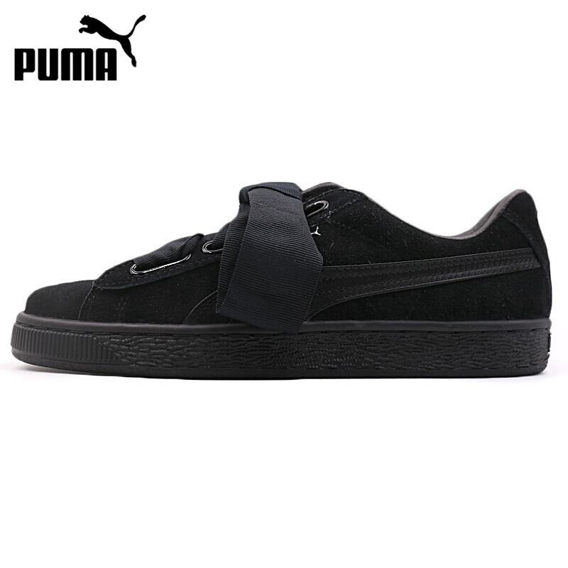 Original New Arrival 2018 PUMA Suede Heart EP Women's Skateboarding Shoes Sneakers original new arrival 2018 puma suede classic unisex s skateboarding shoes sneakers