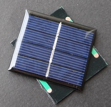 Wholesale! 100PCS/Lot 0.36W 2V Mini Solar Cell Polycrystalline Solar Panel Easy DIY Charger/Toys Education Kits Free Shipping