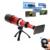 80x de metal telefoto telescópio lente lentes da câmera do telefone + tripé suporte do telefone + bluetooth do obturador controle remoto para iphone 5 6 6 s 7