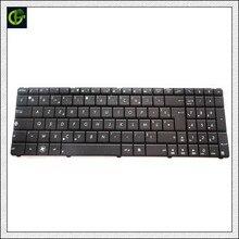 Французская клавиатура для ноутбука Asus X73SD X73SM K73E X55H X55S X55Sa X55SR X55SV Черный FR клавиатура AZERTY