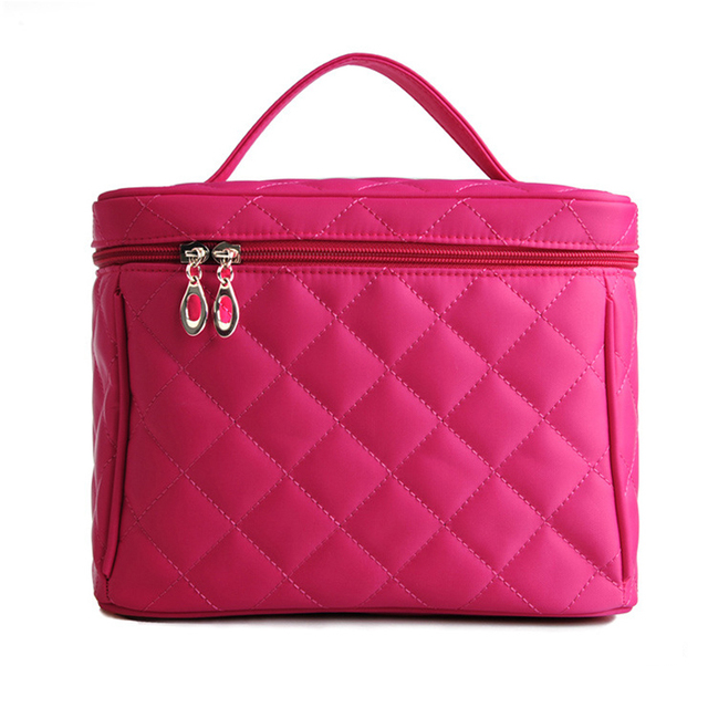 2016 Fashion Lady Cosmetic Cases Bag Multi Functional Cosmetic Storage Bags Women Makeup Bag Pockets Toiletry Pouch