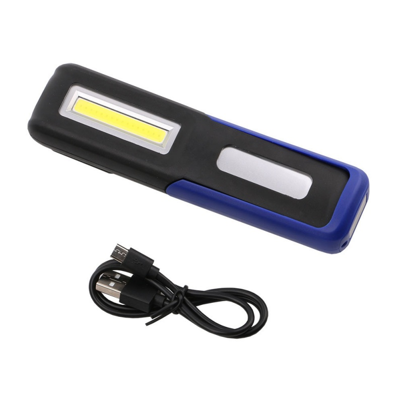 COB LED Taschenlampe Magnetische Arbeitslicht USB Wiederaufladbare Laterne Power display Hängen Taschenlampe Lampe Nacht Beleuchtung