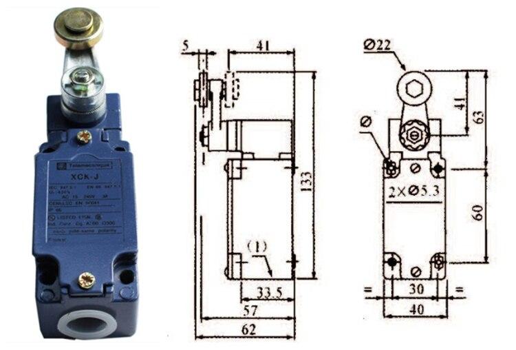 Original new 100%, travel switch XCK-J10511H29C XCKJ10511H29C ,quality assurance! dhl ems brand new for sch neider telemecanique new xck j10511h29c limit switch plc free ship
