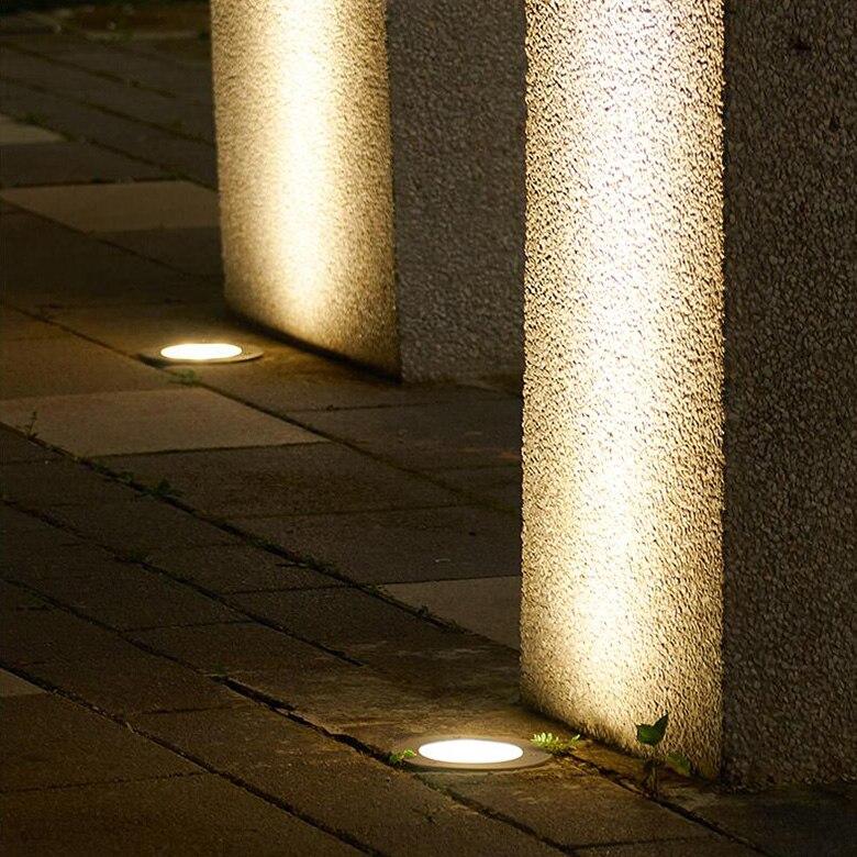 6 W CONDUZIU a Iluminação Subterrânea-Enterrado Luzes
