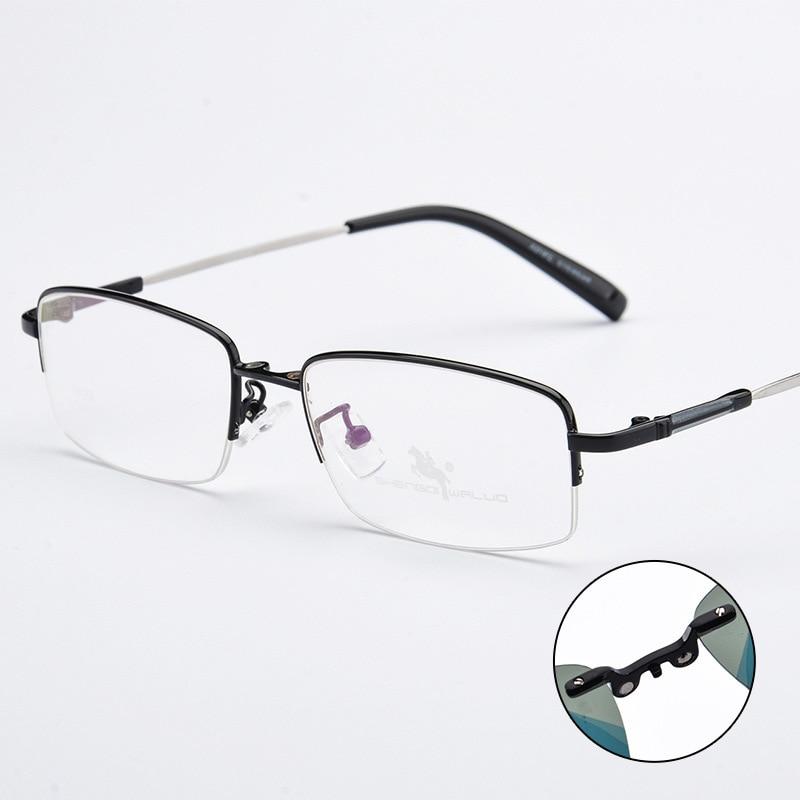 9ad2e7bbb1 Sunglasses Magnetic Clip On Men Myopia Glasses Lightest Eyeglasses Frame  Men Magnet Clip Classic Eyewear Flexiable Fashion-in Eyewear Frames from  Apparel ...