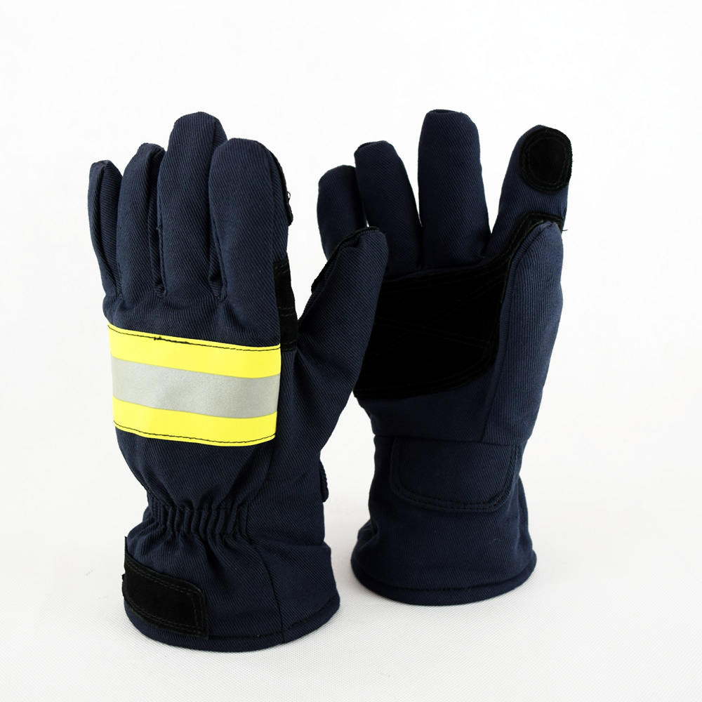 624ff2086dba Fire Protective Fire Fighting Gloves For Fireman-in Safety Gloves from  Security   Protection on Aliexpress.com
