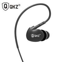 Earphone Original QKZ DM800 3.5mm fone de ouvido HIFI Running Sport Earphones Super Bass Headset Noise Isolating For Phone MP3