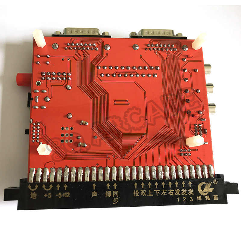 12V JAMMA CBOX 컨버터 보드-DB15P Joypad SNK Gamepad, Saturn & SCART 출력, JAMMA PCB Pandora box IGS 마더 보드