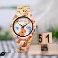 BOBO BIRD креативные бамбуковые часы для женщин ручной работы с деревянным бамбуковым ремешком кварцевые наручные часы для женщин C-O20