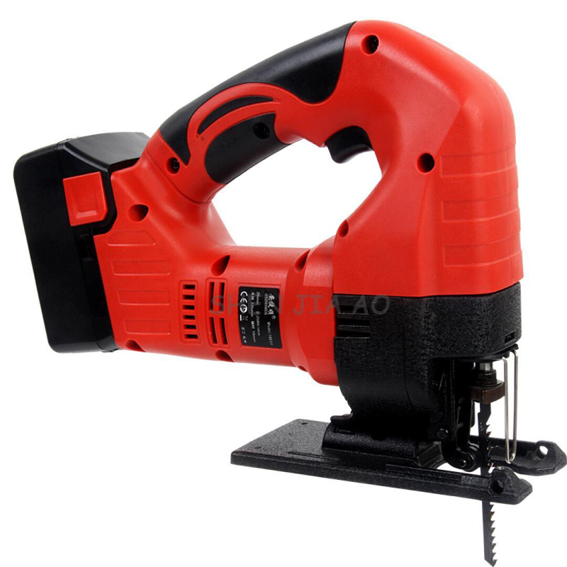 Lithium electric curve saw DIY cutting woodworking curve wood saw household woodworking tools 21V - 4