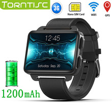 Torntisc LEM4 PRO 2.2 inch 3G Smart Watch Android Support SIM Card 1.3MP Camera Heart Rate 1200mah Battery Smartwatch For Men(China)