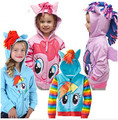 1-16Y Girl hoodies little pony Kids Jackets Children's Coat Girls Coat &Hoodies Girls Jacket Children Clothing Cartoon clothes