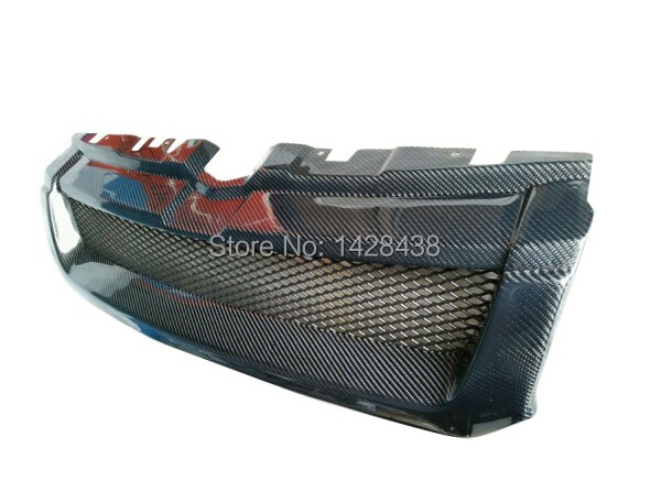 Front Hood Carbon Style Mesh Grill Grille  For Land Rover Evoque 2012 2015 mesh grille land rover grill evoque grill -