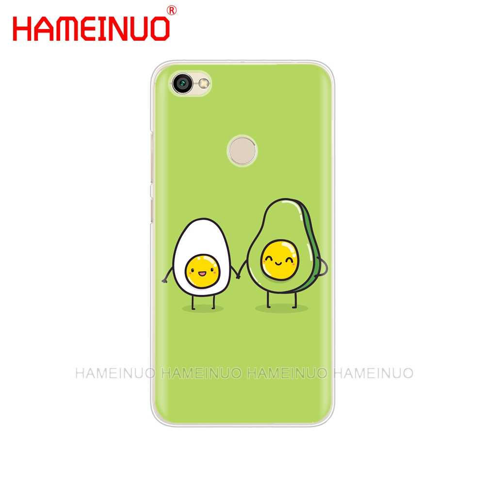 HAMEINUO милый чехол для телефона с авокадо для Xiaomi redmi 5 4 1 1 s 2 3 3 s pro PLUS redmi note 4 4X 4A 5A