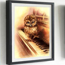 3D Diamond Painting Cross Stitch Pattern 5D  Embroidery Owl diamond Mosaic Resin Home Decor DIY art
