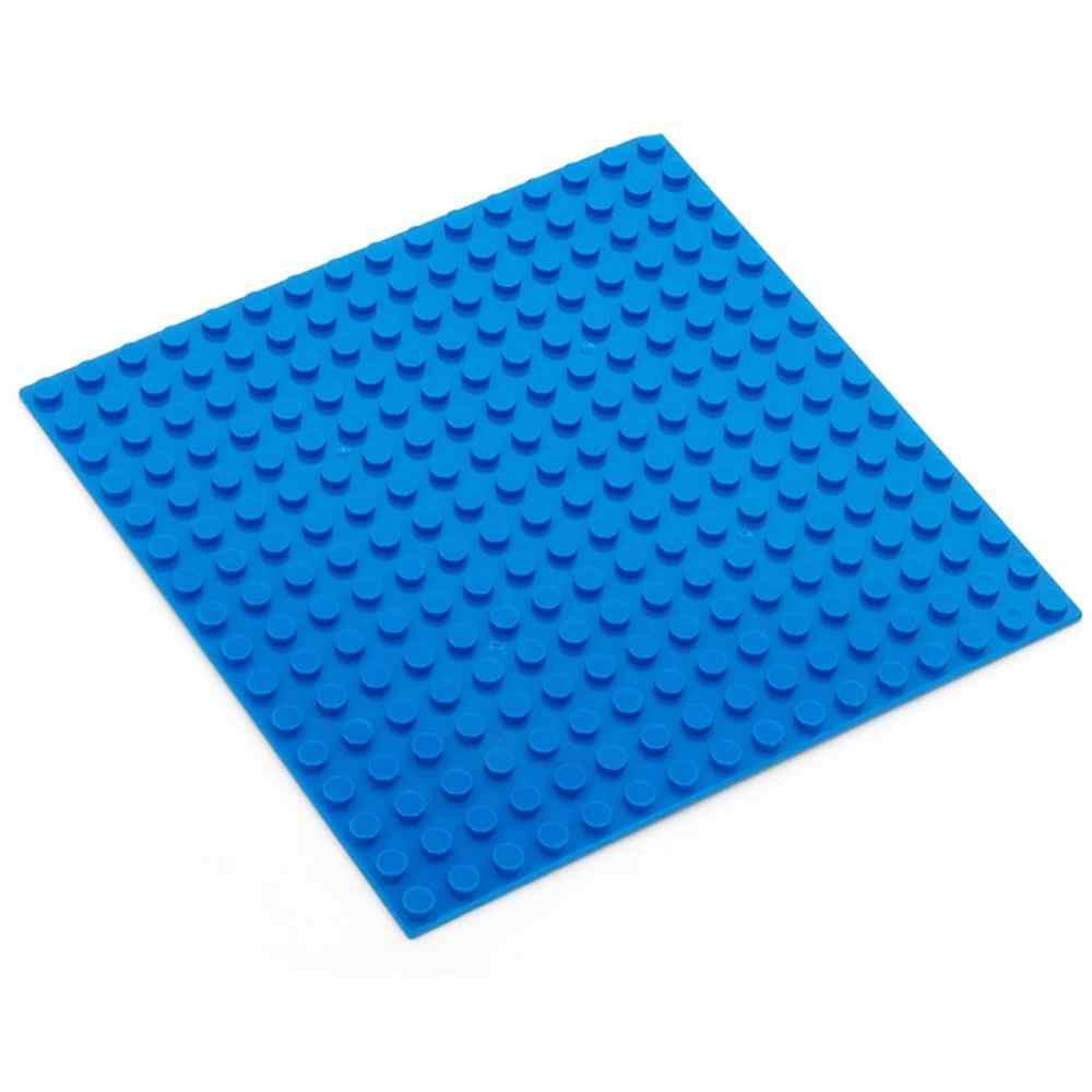 16*16 16*32 puntos placa Base para pequeños ladrillos placa Base DIY bloques de construcción Compatible con juguetes para niños Duplo YY30