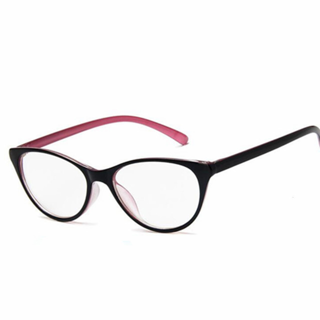 243a66a859 Fashion Women Cat Eye Glasses Frames Cat s Eye Clear Eyeglasses Ladies Spectacles  Frame Retro Women s Glasses Brand Designer