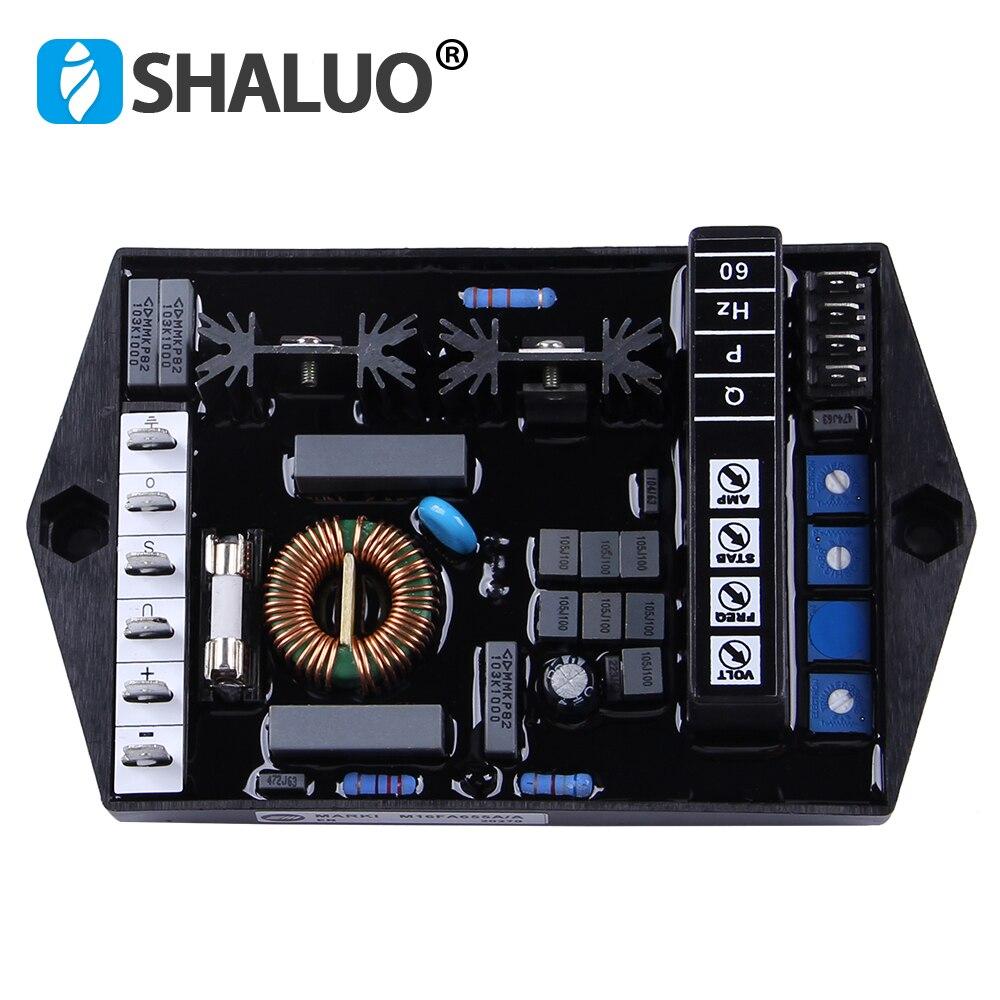 ac marelli avr m16fa655a regulador de tensao automatico estabilizador eletrico 220 v motor ajustavel controlador atual