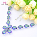 Free Shipping - Top fashion best seller jewelry  women fashion mystic crystal crystal  necklace N0612