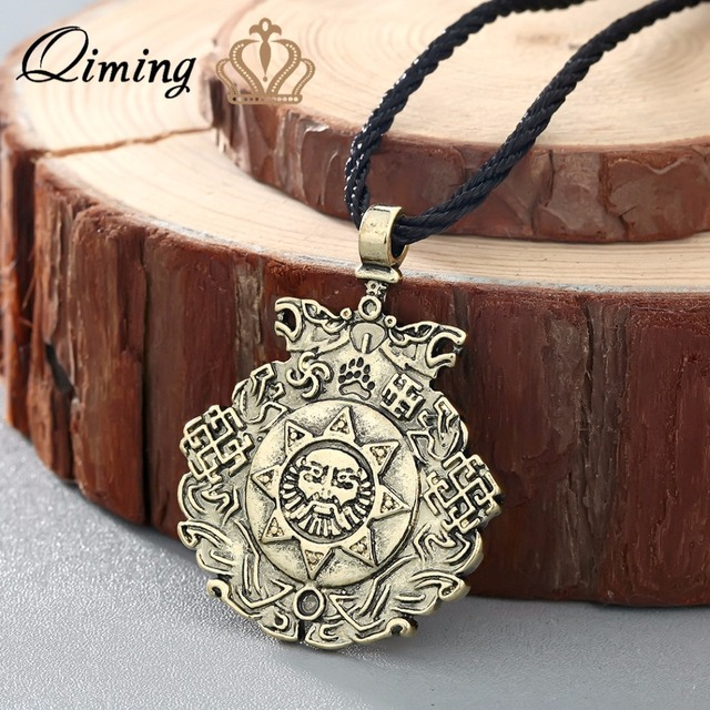 Qiming antique silver wholesale jewelry slavic night knight pendant qiming antique silver wholesale jewelry slavic night knight pendant slavic amulet sun pendants nordic valkyrie viking aloadofball Image collections