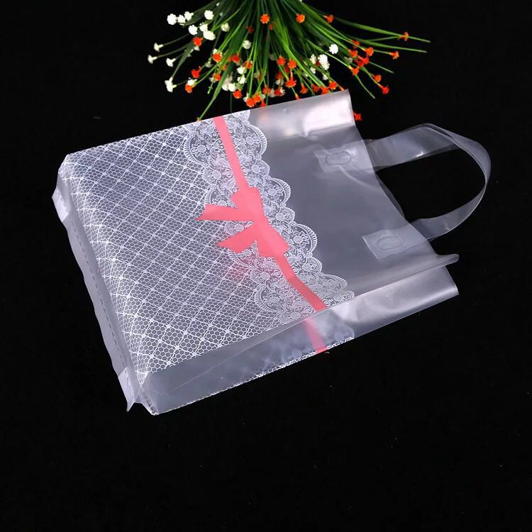 38x43cm Large Clear Plastic Gift Bag Favor Jewelry ...