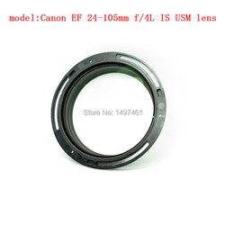 Nowy przedni 1st obiektyw optyczny blok szkło grupy naprawy części dla Canon EF 24-105mm f/4L jest USM obiektyw