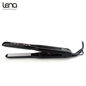 Image 2 - Lena LN 328 220V Professional Crimper Ceramic Corrugated Curler Curling Iron Hair Styler Electric Corrugation Wave Hair