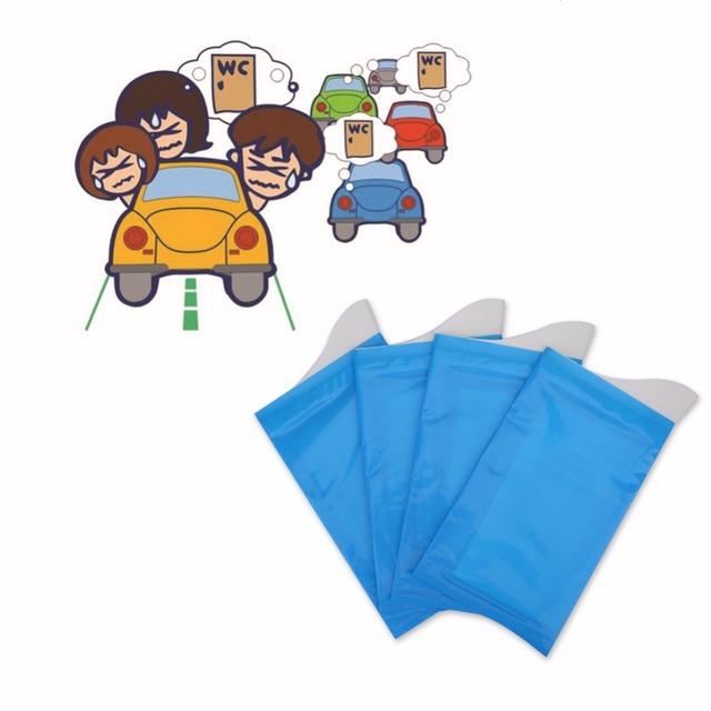 4 Pcs Portable Baby Mobile Urine Bag Disposable Travel Emergency Mini Toilet Urine Bag Toilet Trainer  Potties For Baby Children