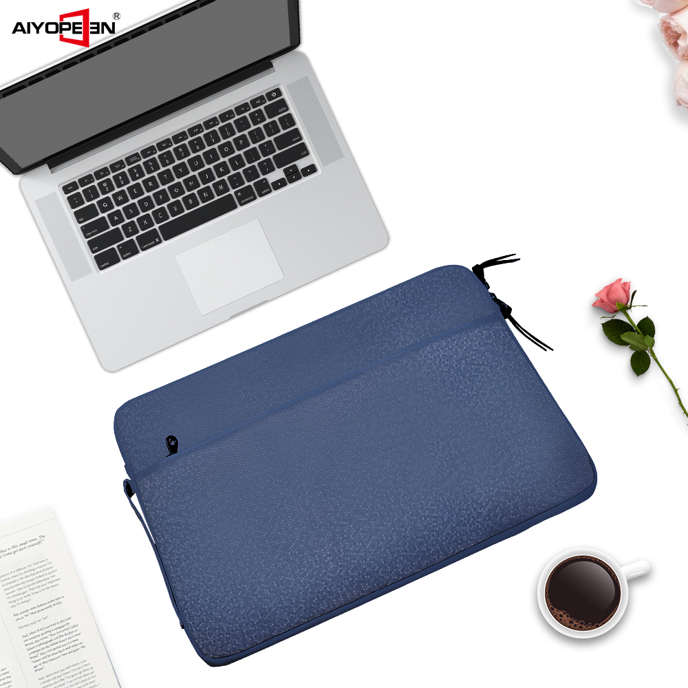 Aiyopeen Laptop Bag For Macbook Air Pro Retina 11 12 13 14 15 15.6 inch Laptop Sleeve Case Cover for Macbook 2018