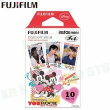 Fujifilm Instax Mini 8 9 пленка Микки Маус Fuji мгновенная фотобумага 10 листов для 70 7 s 50 s 50i 90 25 Share SP-1 2 камеры