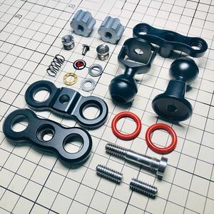 Image 5 - Vlogeur VIPER bras magique moniteur vidéo support de lumière support de rotule cardan accessoire appareil photo accessoires pour Sony Nikon Canon DSLR