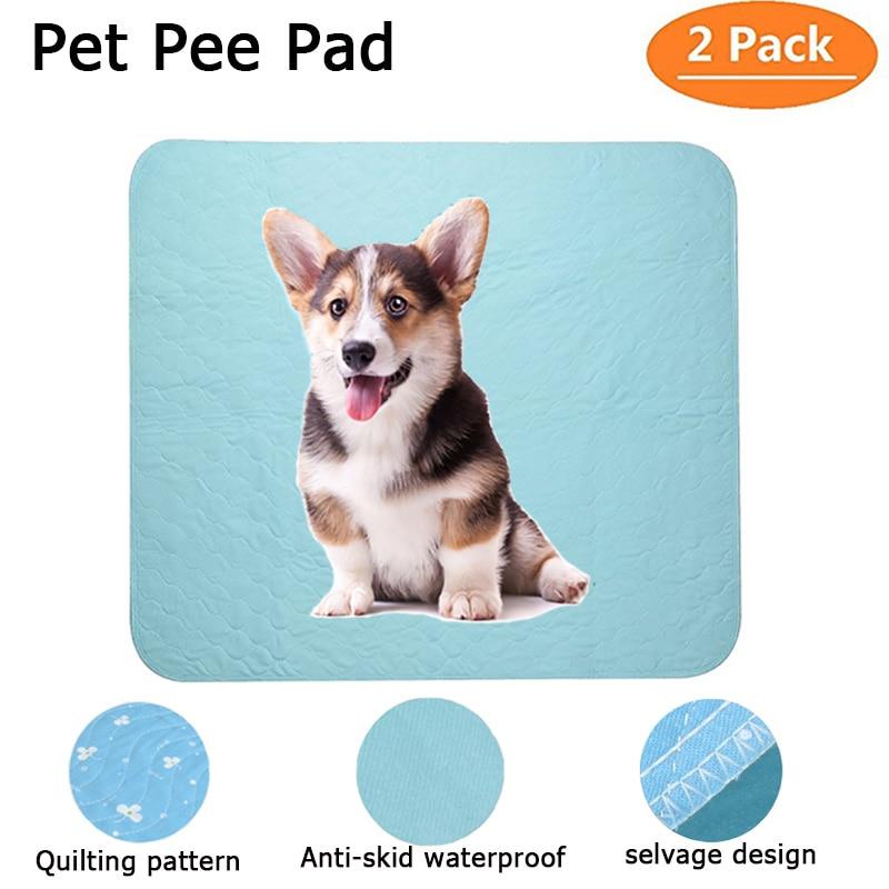 Riutilizzabile Pet Pipì Pad Multi-size Lavabile Pannolini Per Animali Super Assorbente Cane Urina Pad per Puppy Training Parto di Pulizia letto Zerbino