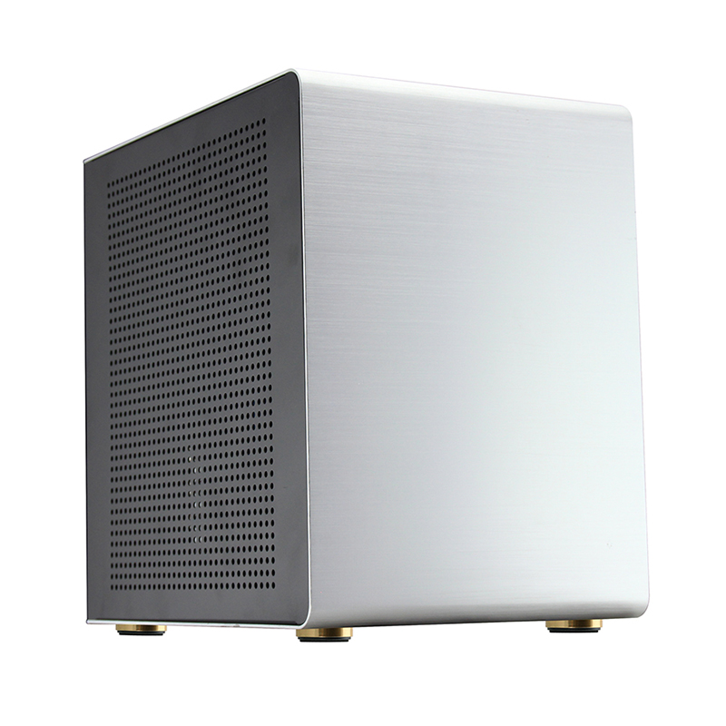 Aluminum alloy Desktop MicroATX Computer case HTPC Chassis Computer Games ITX empty cage new 3u ultra short computer case 380mm large panel big power supply ultra short 3u computer case server computer case
