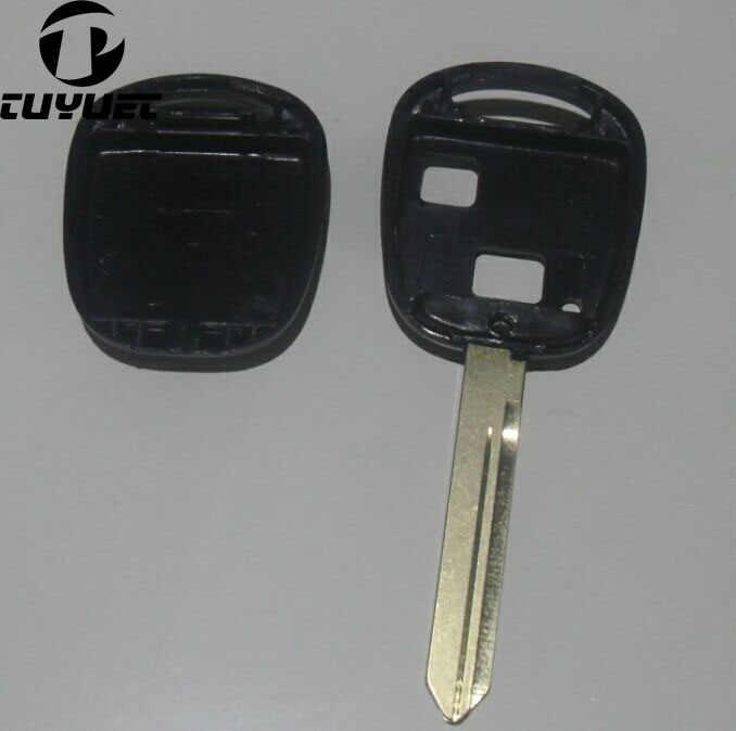 Thay thế Vỏ Chìa Khóa Dành Cho Xe Toyota Từ Xa Vỏ Chìa Khóa 2 Nút TOY47 Lưỡi Dao