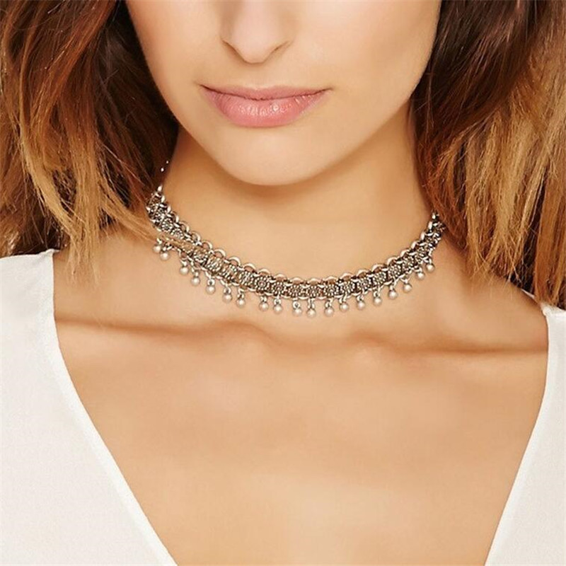 Friends Forever Necklaces Fashion Bohemia Vintage Choker Necklace For Women Link Chain Necklace Costume Jewelry