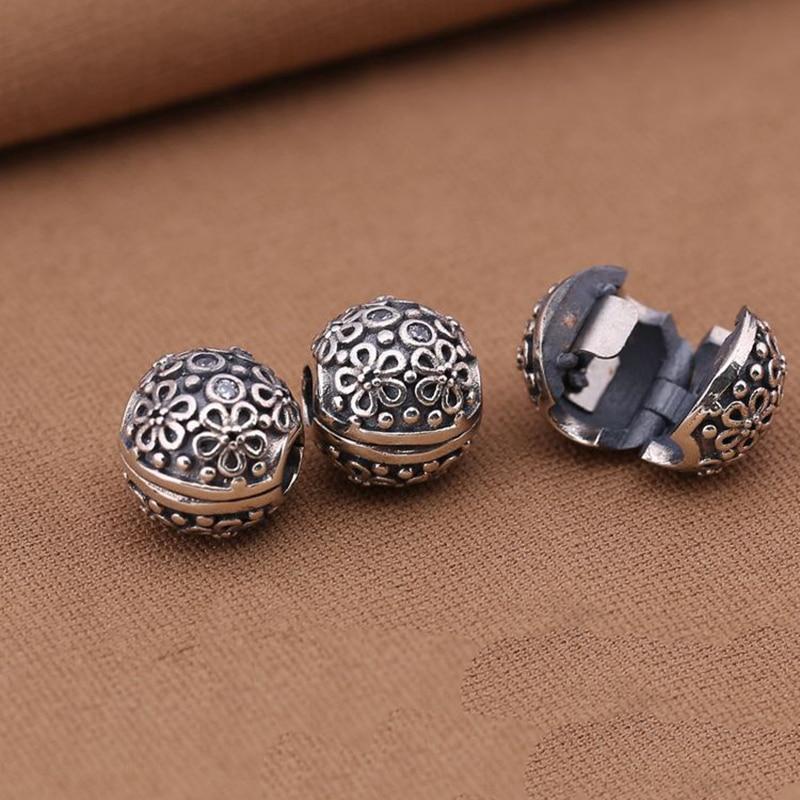 Pink Enamel Charm Stopper Clip Bead Fit European Bracelet Women Jewelry Calvas Authentic 925 Sterling Silver Cherry Blossom