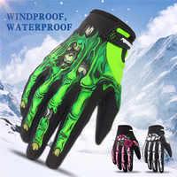 RIGWARL gants Moto hiver imperméable Guantes Moto gants d'équitation thermique polaire doublé écran tactile gants Gant Moto