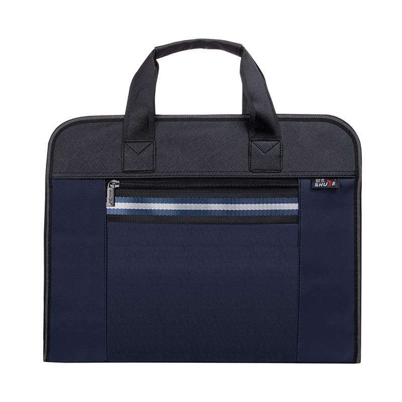 Portable File Bag Briefcase Business Office Leisure Out Professional Bag Large Capacity Customization